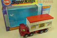 MATCHBOX. SUPER KINGS.  SCAMMELL CONTAINER TRUCK.  REF. K 24  + boite. (1976)