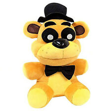 New FNAF Five Nights at Freddy's Collector Golden Freddy Doll Plush Toys 18CM A
