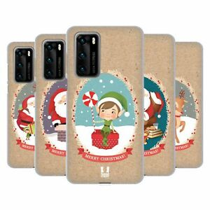 HEAD CASE DESIGNS CHRISTMAS CLASSICS 2 SOFT GEL CASE FOR HUAWEI PHONES 4