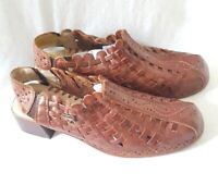 Pikolino's Greek Style Brown Genuine Leather Shoes - Size 3 - Good Condition