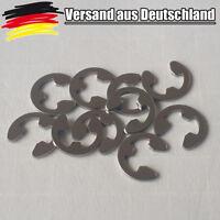 10x Sicherungsring Rueckhalte Schnapp Ring E-Clip Sicher 3 - 4 mm rostfrei L0062