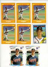 1988 Topps, Fleer, Donruss, Score Tom Glavine Rookie Lot (11 cards)