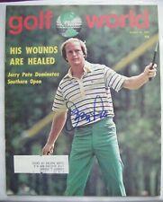 JERRY PATE signed 1977 GOLF WORLD magazine AUTO Autographed ALABAMA CRIMSON TIDE
