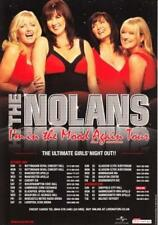 Nolans 'I'M IN THE MOOD AGAIN TOUR' - 2009 A5 Flyer - New