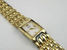 Women's Rotary LB1217 Solid Sterling Silver 925 Hallmarked Gold Plated Watch