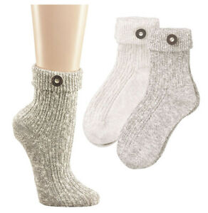 Trachtensocken Damen Trachten Socken Freizeitsocken Wandersocken 35/38 Knopf