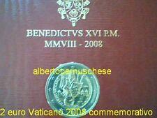 2 euro VATICAN 2008 année Saint Paul Vaticano Vatikan