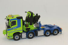01-2233 WSI 1 50 VOLVO Fh4 Sleeper CAB 8x4 Nordic Crane