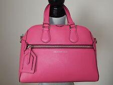 Marc Jacobs Pink Globetrotter Calamity Rei Tote MD Satchel SHOULDER Bag NWT $428