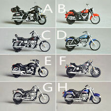 1 Set 8PCS 1:43 O Scale Model Motorbike for Model Train Layout NEW Free Shipping
