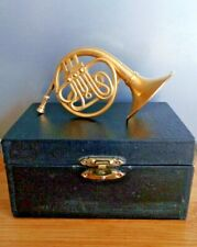 Miniature French Horn Collectable Ornament