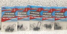 (5) ZMan 1/15oz Finesse Shroomz Ned Rig JigHeads Black 5/pack All New 114