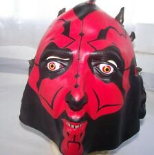New Adult Star Wars Deluxe Darth Maul Latex Halloween Mask by Lucas Film