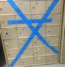 Vintage Us Post Office Mail Boxes 24 Cubbies Slots - No Keys Local P/U Only Nyc!