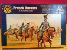 ITALERI MAQUETTE FRENCH HUSSARS 1/72 COMPLET