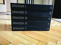 Spanish Course from 1 to 5 level from Pimsleur Audio Language Courses