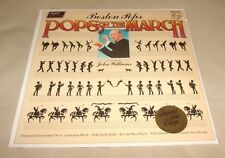 John Williams : Boston Pops on the March Sealed LP