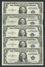 "America -USA x 1 q FDS / a UNC 1 Dollari Decr.1935 ""E"" Bollino BLU !!!"