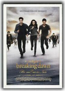 TWILIGHT 5 - BISS ZUM ENDE DER NACHT ♦ 2012 ♦ CINEMA Filmkarte ♦ Kristen Stewart