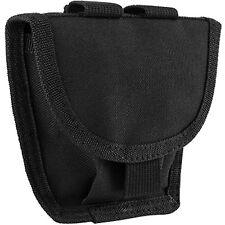 NcSTAR CVHCP2973B MOLLE Double Handcuff SWAT Law Enforcement Modular Pouch Black