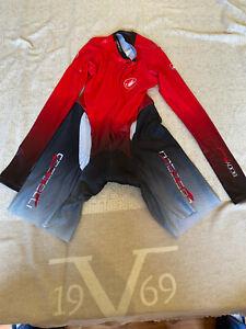 CASTELLI Cycling Long Sleeve Skinsuit BRAND NEW BODYPAINT ORIGINAL SIZE 2XL