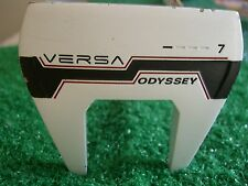 """Odyssey Versa # 7 white 33.5"""" Heel-Shafted right-handed mallet Putter"""