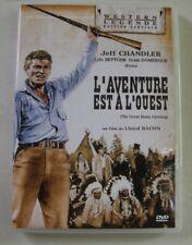 DVD L'AVENTURE EST A L'OUEST - Jeff CHANDLER - Lloyd BACON - RESTAURE