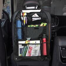 Car Auto Back Seat Organizer Holder Multi-Pocket Travel Hanger Storage Bag Black