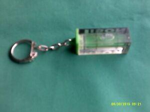 Tison spirit level key ring 42mm long 15mm square