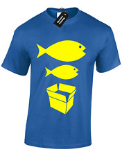 BIG FISH LITTLE FISH MENS T SHIRT S-5XL DANCE DJ ACID HOUSE RAVE HACIENDA MUSIC