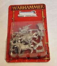 GW Warhammer Lizardmen Temple Guard Command (8585G) - METAL SEALED BLISTER RARE