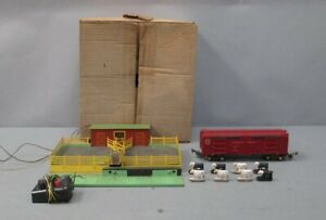 American Flyer 736 Vintage S MP Operating Stock Car with 771 Corral/Box