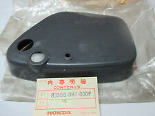 Honda  C50 C65 C70 SIDE COVER LH TOOL BOX 83500-087-000F NOS