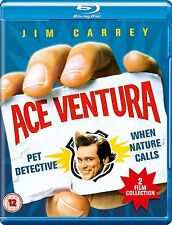 Ace Ventura 1&2 Pet Detective + When Nature Calls Two Movie Set Blu-Ray NEW