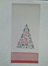 Nwt St. Nicholas Square® Christmas Traditions 'Tis the Season Hand Towel