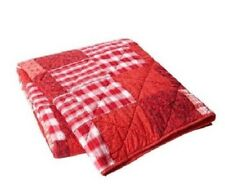 Lexington Country Collection Quilted Patchwork Bedspread Red - Stock Clearance