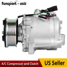 A/C Compressor and Clutch Fits For Honda Civic 1.8L 2006,2007 2008 2009 2010