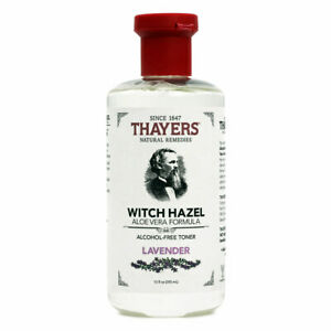 Thayers Witch Hazel Aloe Vera, Lavender - 12 fl oz FRESH, FREE SHIPPING