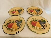 J2 - Home Trends Granada Dinner Plates Lot of 4