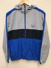 Nike Athletic Dept Azul Gris Chándal Chaqueta con capucha para hombre talla pequeña