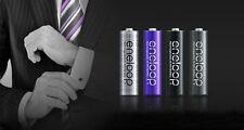 Sanyo eneloop tones 'UOMO' 8 x AA Rechargeable NiMH LSD Batteries New Oz Stock