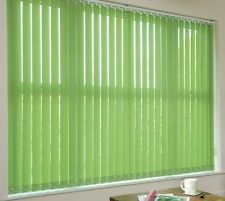"""Fern Green Vertical Blind Replacement Slats, Made To Measure 89mm (3.5"""") Width"""