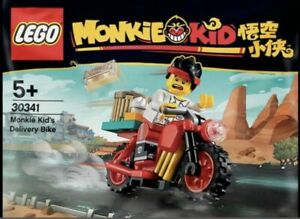 LEGO MONKIE KID'S DELIVERY BIKE 30341 POLYBAG EXTREMELY RARE COLLECTION NEW SEAL