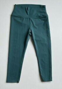 Alo Yoga Authentic Women's Leggings Pants Sage Green Size Medium EUC!