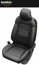 NEW 2015-20 Ford Mustang Coupe Katzkin Black Leather Seat Replacement Covers