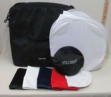Still Shot 2 Photography Tent Lighting Softbox Accessory Color Backdrops Case