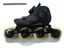 Brand New Vanilla Carbon Competitive Inline Speed Skates Black Size M06/L07.