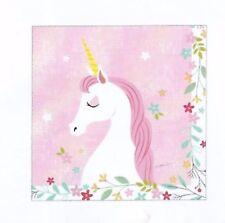 Unicorn Party Supplies - Unicorn Luncheon Party Napkins / Serviettes 20 pack