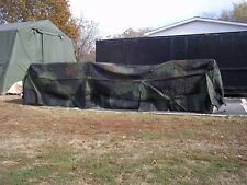 MILITARY TRUCK TRAILER TENT 5 TON COVER CAMO 8 x 20.5 x 4  FMTV MTV  M1085 ARMY
