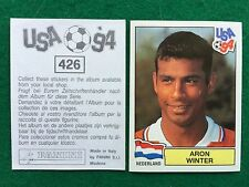 USA 94 1994 n 426 ARON WINTER OLANDA NEDERLAND , Figurina Sticker Panini NEW